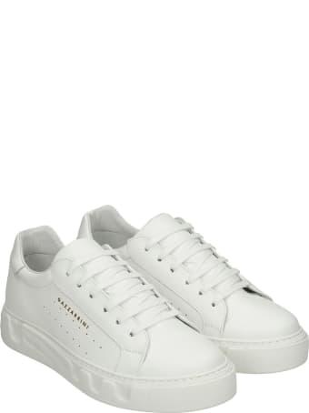 Gazzarrini Sneakers In White Leather