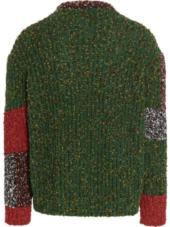 J.W. Anderson 'anchor Patchwork Crewneck Jumper' Sweater