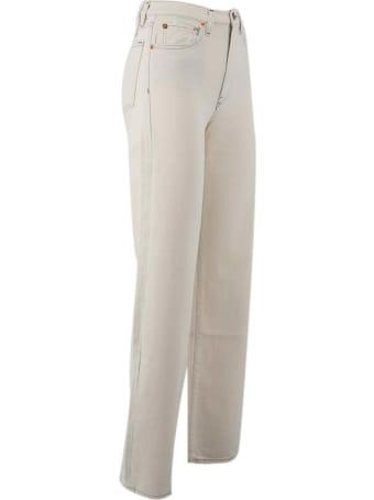 3x1 Cotton Wide Leg Jeans