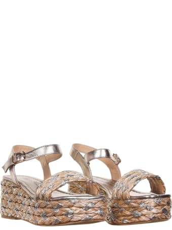 Alma en Pena Multicolored Wedge Sandals