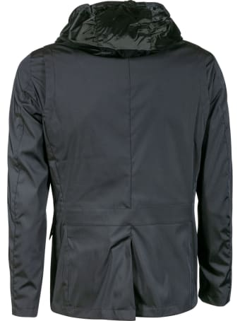 Moorer Double-layered Button-zip Jacket