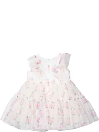 Monnalisa Newborn Floral Dress