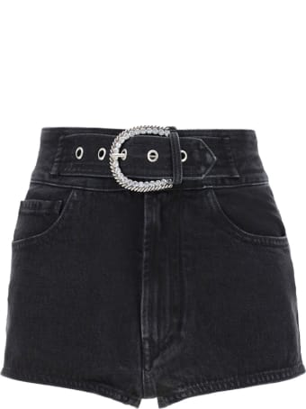 Alessandra Rich Denim Shorts