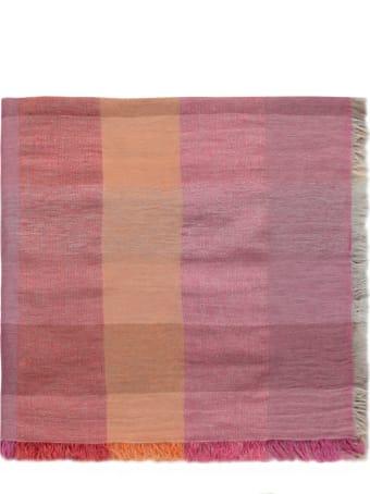Kangra Cotton And Linen Blend Scarf