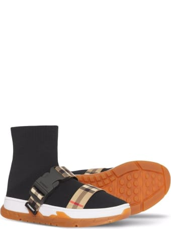 Burberry Black Sock Sneakers