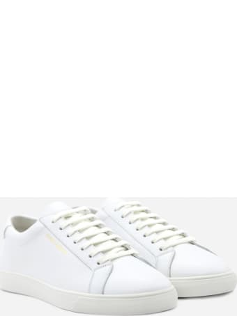 Saint Laurent Andy Sneakers In Leather