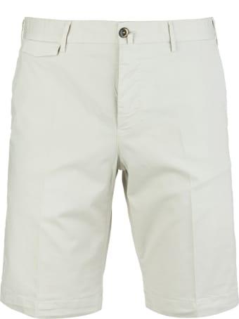 PT Bermuda Man White Smoke Bermuda Shorts