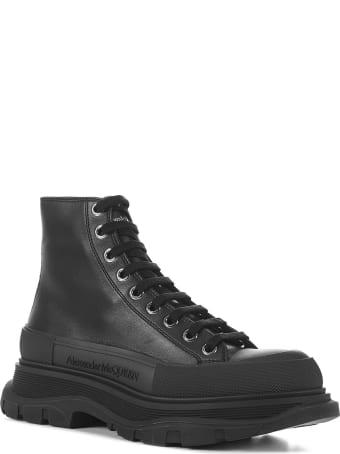 Alexander McQueen Boxer Dog Calf Boots