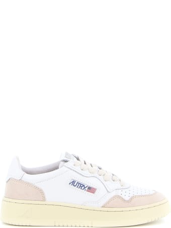 Autry 01 Low Leather Suede