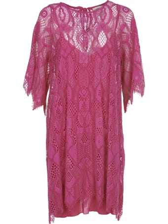 Pink Memories Pink Lace Dress