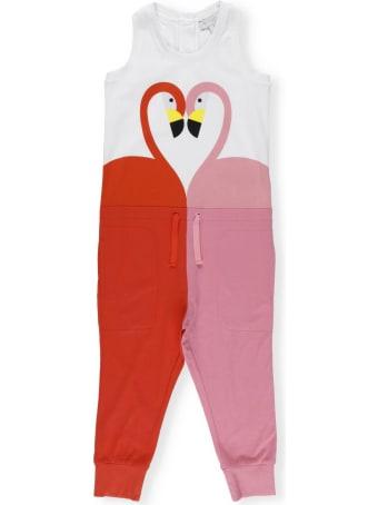 Stella McCartney Jumpsuit With Flamingos