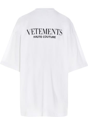 VETEMENTS 'fashion Is My Profession' T-shirt