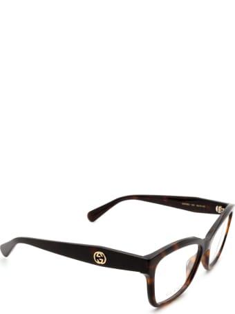 Gucci Gucci Gg0798o Havana Glasses