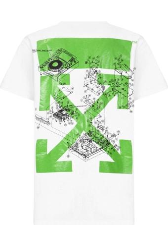 Off-White X Pioneer Dj Se_console T-shirt