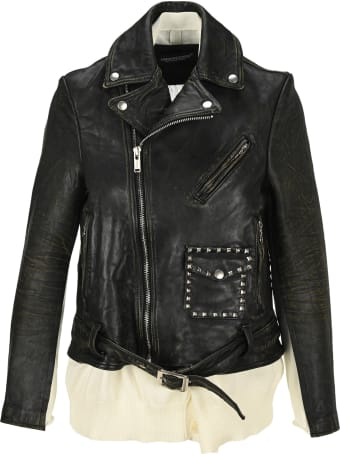 Undercover Jun Takahashi Undercover Stud Leather Jacket