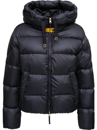 Parajumpers Tilly Black Quilted Nylon Down Jacket
