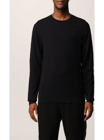 Emporio Armani Sweater Emporio Armani Sweater In Jacquard Viscose