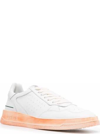 GHOUD Tweener Low White Leather Sneakers