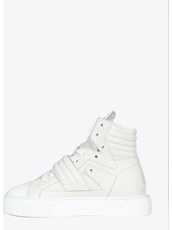 Gienchi White Deer Leather Hypnos Sneaker