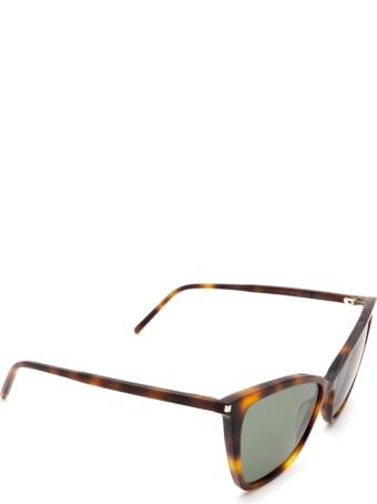 Saint Laurent Saint Laurent Sl 384 Havana Sunglasses