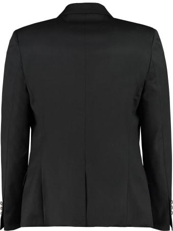 Balmain Double-breasted Wool Jacket