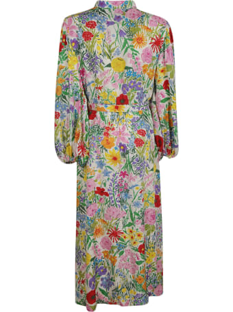 Gucci Floral Print Long Dress