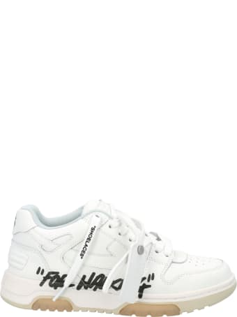 Off-White Off White White Out Of Office Sneakers