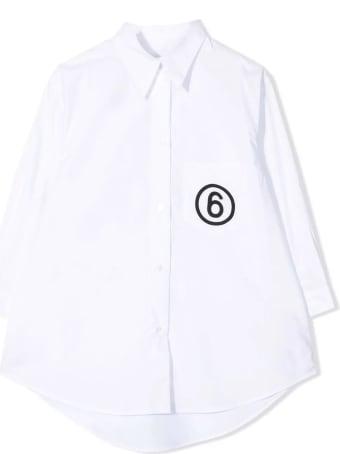 Maison Margiela White Cotton Shirt
