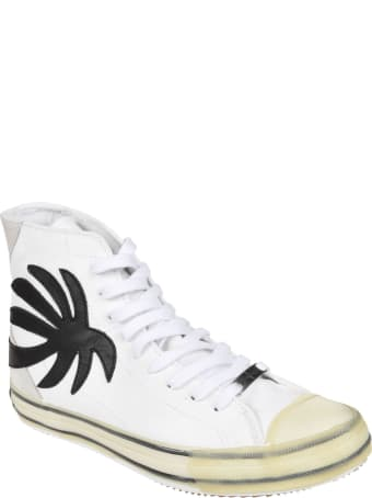 Palm Angels Vulc Palm High Top Sneakers
