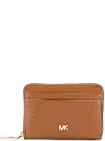 Michael Kors Mott Light Brown Card Holder