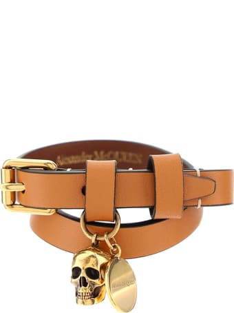 Alexander McQueen Alexander Mc Queen Double Wrap Bracelet