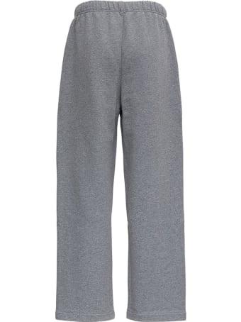Ami Alexandre Mattiussi Grey Organic Cotton Trousers