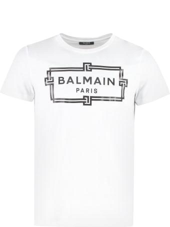 Balmain Cotton Crew-neck T-shirt