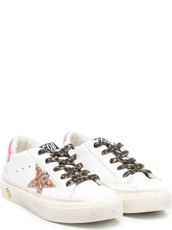 Golden Goose Sneakers With Spotted Laces