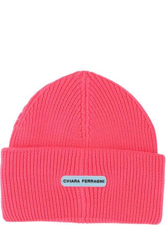 Chiara Ferragni Eyelike Beanie Hat
