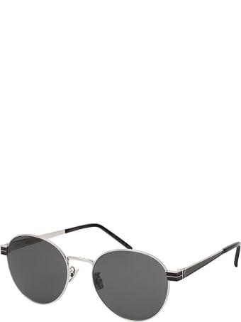 Saint Laurent Saint Laurent Sl M65 Silver Sunglasses