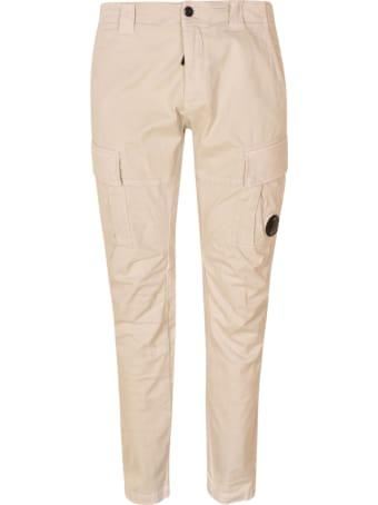 C.P. Company Stretch Satin Cargo Pants
