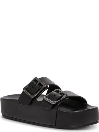 Balenciaga Mallorca Sandals In Black Leather