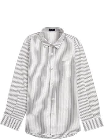 Il Gufo Striped Organic Cotton Shirt