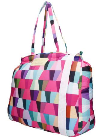 Formy Studio Shoulder Bag In Rose-pink Polyester