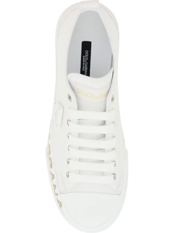 Dolce & Gabbana Portofino Light Sneakers With Logo