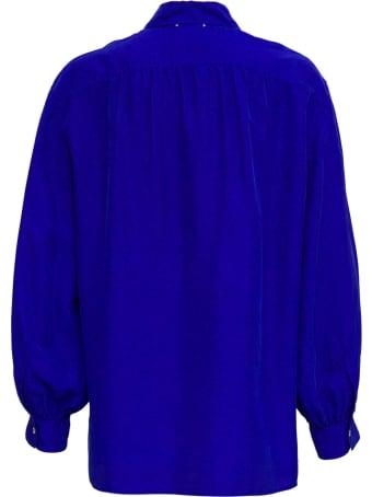 Forte_Forte Hobotai Blue Silk Shirt