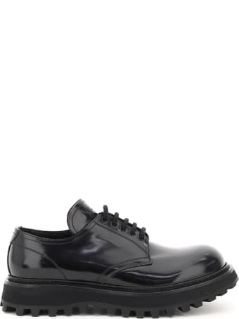 Dolce & Gabbana Brushed Leather Derby