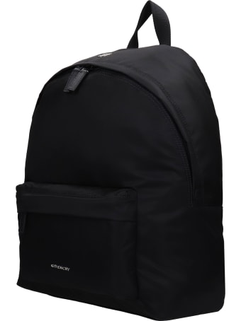 Givenchy Essential Backpack In Black Polyamide