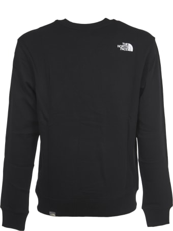 The North Face Black Crew With Logo