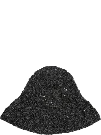 Philosophy di Lorenzo Serafini Floral Woven Hat
