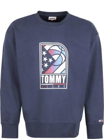 Tommy Jeans Printed Crew-neck Sweatshirt