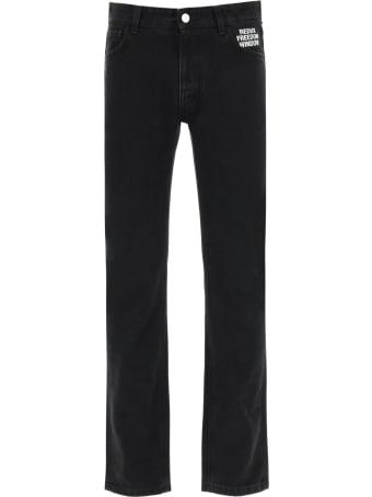 Raf Simons Redux Freedom Window Jeans