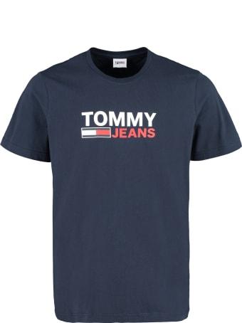 Tommy Jeans Logo Cotton T-shirt