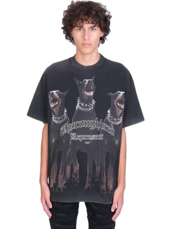 REPRESENT T-shirt In Black Cotton